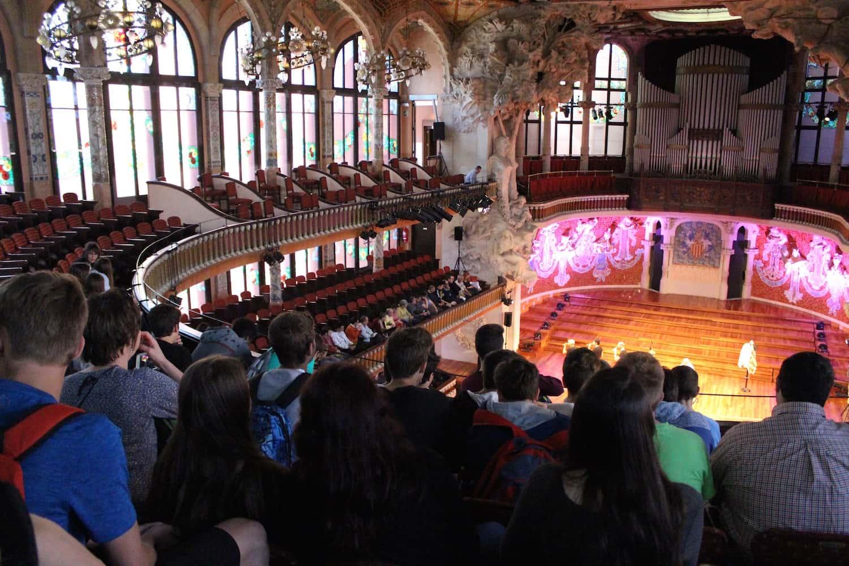Visita D'ESO Al Palau De La Música