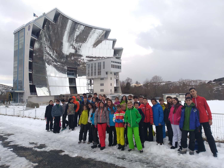 Gran Primer Día De Esquí Para Primaria Y Secundaria