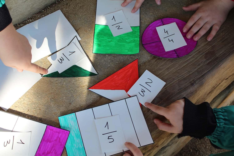 Aprenent Les Fraccions Amb Un Joc Creat Pels Alumnes
