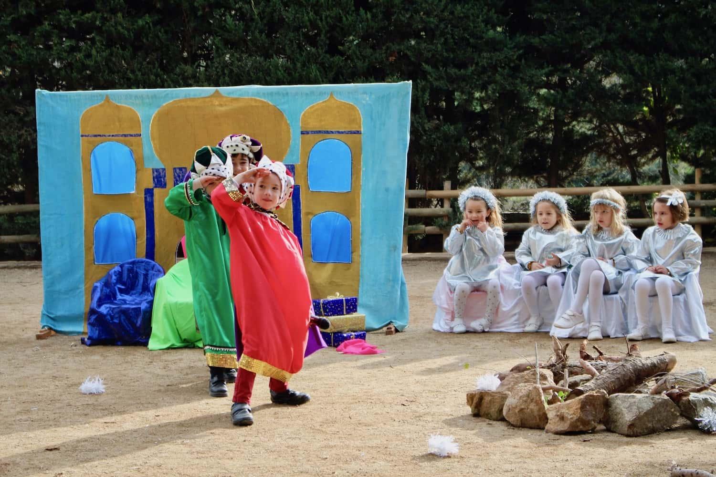 """Els Pastorets"" D'Infantil Inauguren El Nadal"