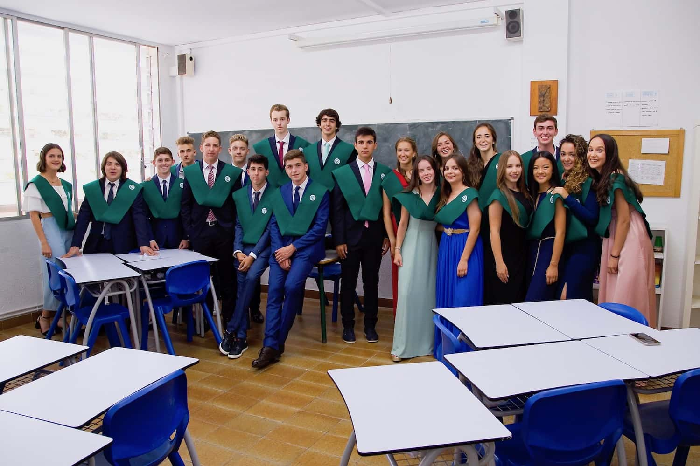 Fi De Curs, Amb La Festa De Graduació Del Grup Xacobeo