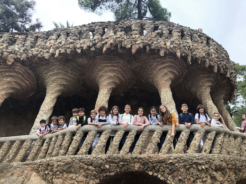Visita Al Park Güell Per Consolidar L'aprenentatge