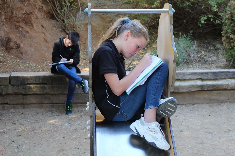 El Jardí De L'escola Com A Font D'inspiració Per Als Alumnes D'ESO